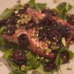 Cherry - Pistachio Salmon Recipe